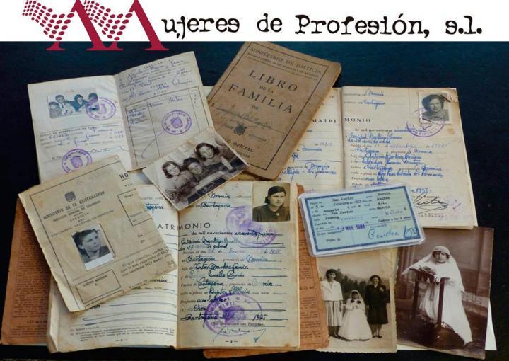 Acto conmemorativo del Día Internacional de la Mujer, 'Mujeres de profesión, s.l'