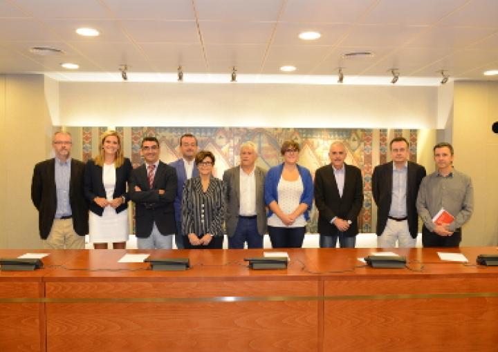 Constitución de la Comisión Especial sobre Financiación Autonómica