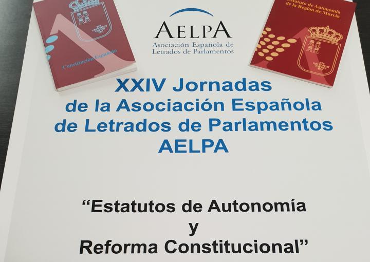 La Asociación Española de Letrados de Parlamentos, AELPA, debate sobre 'Estatutos de Autonomía y Reforma Constitucional' en la Asamblea