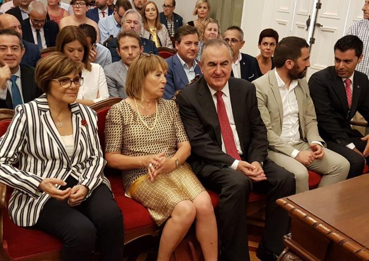 Ana Belén Castejón ha sido proclamada alcaldesa de Cartagena