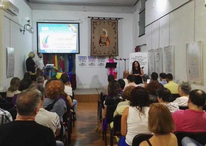 La Asamblea recibe el premio Cristina Esparza Martín de Colectivo Galactyco