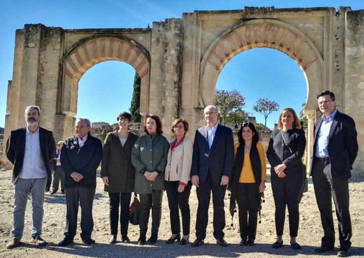 La Conferencia de Presidentes de Parlamentos Autonómicos (Coprepa) ha expresado su apoyo a la candidatura de la ciudad califal de Medina Azahara a Patrimonio Mundial de la Unesco
