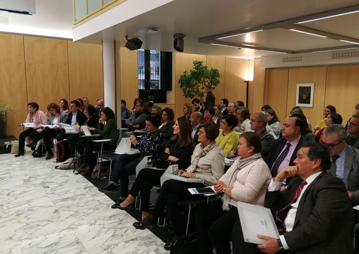 Una delegación murciana participa en el seminario de derecho parlamentario 'Reformas de los Reglamentos parlamentarios'