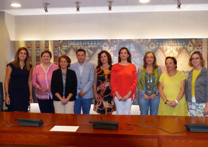 Miembros de la Comisión Especial de Discapacidad