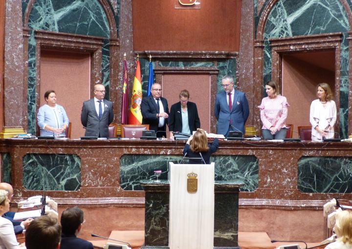 Ana Ruiz Puerta ha tomado posesión esta mañana de su escaño como diputada del Grupo Parlamentario Popular
