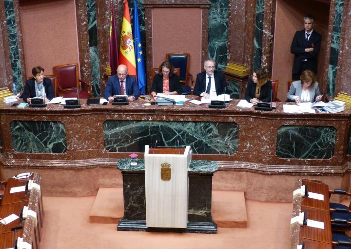 Luis Francisco Fernández lee la declaración institucional sobre presos españoles en cárceles extranjeras
