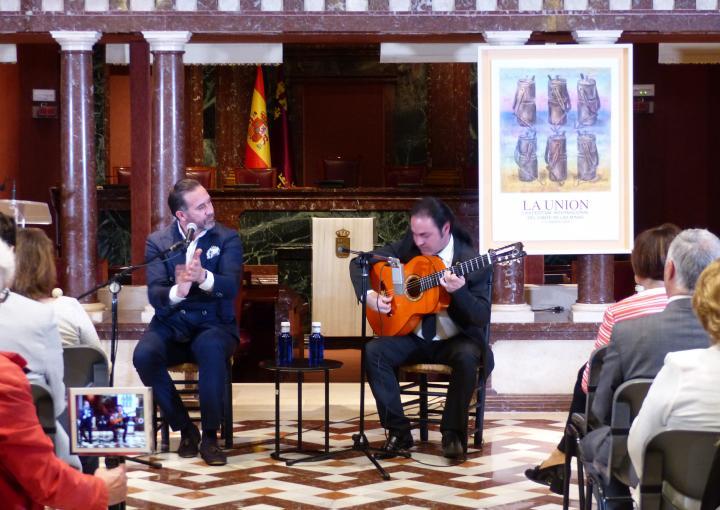Presentación del cartel anunciador de la LVIII edición del Festival Internacional del Cante de las Minas de La Unión