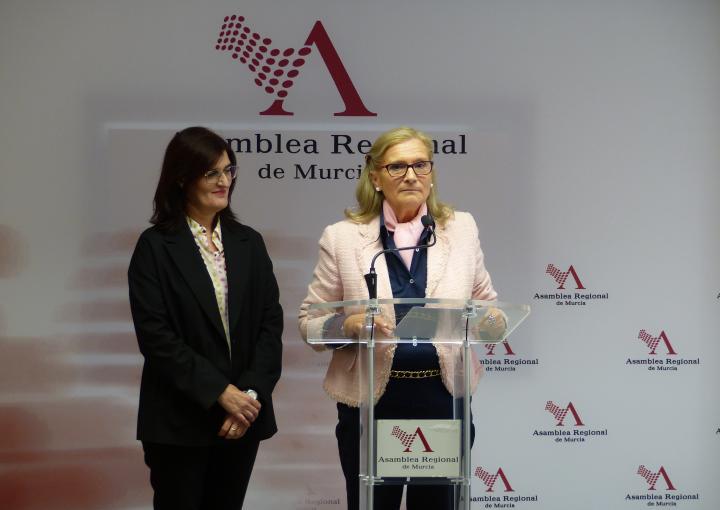 Delia Topham Reguera, presidenta de la Federación de Salud Mental Región de Murcia