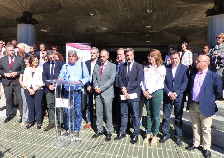 Lectura del manifiesto de EAPN Región de Murcia en el Día  Internacional para la Erradicación de la Pobreza