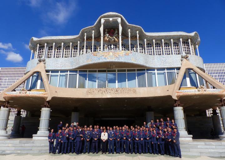 Visita de la Academia General del Aire