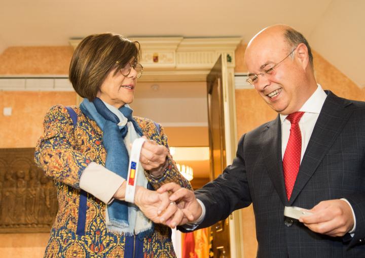 Entrega del proyecto de Ley de Presupuestos Generales de la Comunidad Autónoma de la Región de Murcia para el año 2018