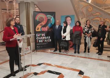 Inauguración de la exposición 'Esas grandes desconocidas'