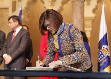 La presidenta de la Asamblea Regional, Rosa Peñalver, ha participado en el plenario de la COPREPA, en Zaragoza