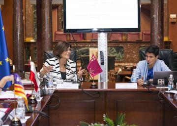 """Sara de la Rica ha pronunciado la conferencia de cierre """"Las Brechas de Género en España y propuestas de actuación"""""""
