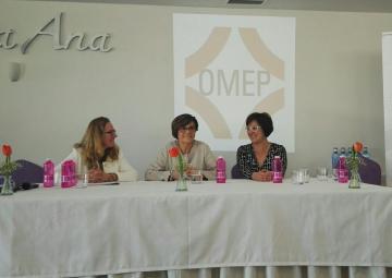Rosa Peñalver ha clausurado la jornada Día Mujer OMEP