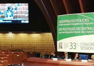 La Asamblea Regional ha participado por primera vez en el Congreso del Consejo de Europa