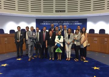 Una delegación de la Asamblea Regional participa en las jornadas de trabajo que la Asociación Española de Letrados de Parlamentos, AELPA, celebra en el Consejo de Europa y el Tribunal Europeo de Derechos Humanos, Estrasburgo.