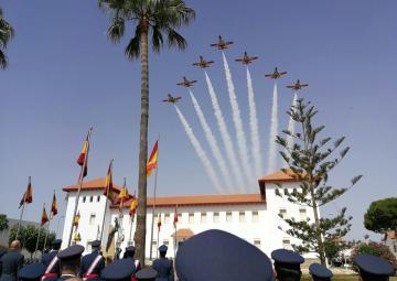 Entrega de Reales Despachos a las nuevas promociones de la Academia General del Aire de San Javier