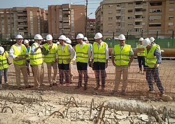 La Comisión Especial de Seguimiento de la entrada del AVE a la Región de Murcia visita las obras