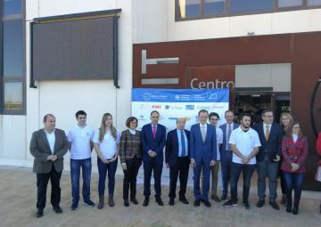 Visita del ministro de Ciencia, Innovación y Universidades, Pedro Duque, al Parque Tecnológico de Fuente Álamo
