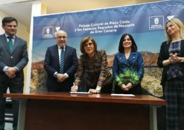 La Coprepa brinda su apoyo a la candidatura de Risco Caído