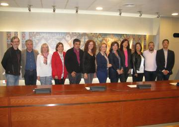 La Marea Blanca de la Región de Murcia se ha reunido con los Grupos Parlamentarios