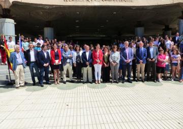 Minuto de silencio en Asamblea Regional de Murcia