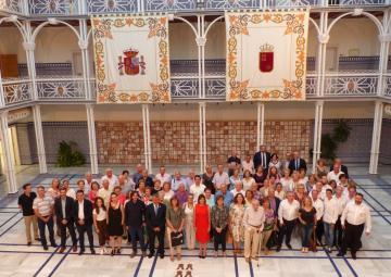 Presentación del cartel y programa del 125 aniversario del nacimiento de David Castejón, 'Patriarca del Trovo'