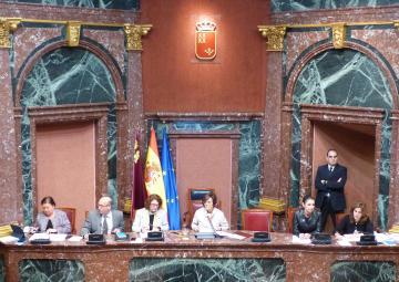 Pleno de la Asamblea Regional de Murcia