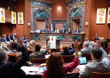 Debate del dictamen al proyecto de Ley de Medidas Urgentes para garantizar la sostenibilidad ambiental en el entorno del Mar Menor