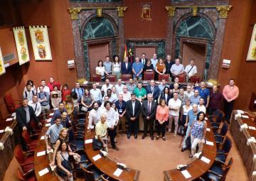 Recepción a los participantes en el Congreso Internacional Conjunto en Mecánica, Diseño en Ingeniería y Fabricación Avanzada JCM2018