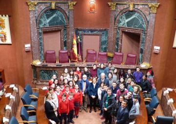 El programa educativo 'Educando en Justicia' visita la Asamblea