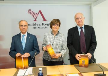 Presentación de la trilogía 'Símbolos municipales de la Región de Murcia'
