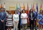 Reunión extraordinaria de la Conferencia de Presidentes y Presidentas de Parlamentos Autonómicos en la Asamblea de Extremadura