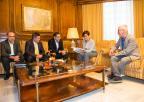 El Consejo Económico y Social de la Región de Murcia, CES, ha presentado su Memoria a Rosa Peñalver y diputados regionales