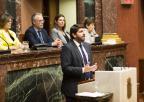 Intervención del presidente del Consejo de Gobierno, Fernando López Miras, en el Debate sobre el Estado de la Región