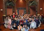 Alumnos del CEIP Sagrado Corazón, de Librilla