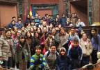 Alumnos y alumnas del CEIP Juan Carlos I, de Murcia