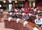 Alumnos del CEIP Santiago El Mayor, de Murcia