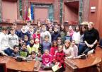 Alumnos y alumnas del CEIP El Romeral, de Molina de Segura