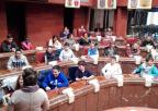 Alumnos y alumnas del CEIP Mare Nostrum, de Cartagena