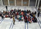 Alumnos y alumnas del CEIP Miguel Hernández, de Jumilla