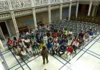 Alumnos del CEIP Ciudad de Begastri, de Cehegín
