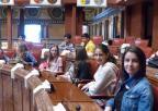 Alumnos del CEIP Juan Carlos I, de Llano de Brujas