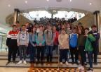 Alumnos del IES Alquibla, de Murcia