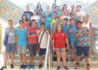 Alumnos del CEIP Maspalomas, de San Pedro del Pinatar