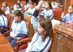 Alumnos del Colegio San Vicente de Paúl, de Cartagena