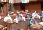 Alumnos del CEIP Campoamor, de Alcantarilla