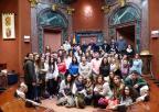 Alumnos del Colegio Hispania, de Cartagena
