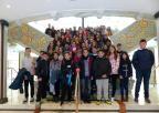 Alumnos y alumnas del C.E.I.P. Cervantes, de Caravaca de la Cruz